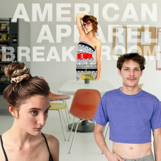 American Apparel Break Room