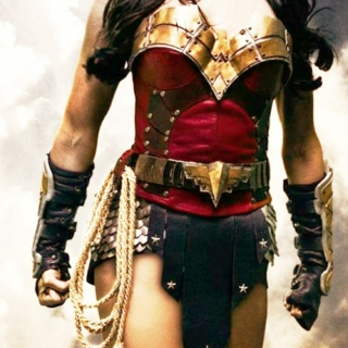 Who the World Needs Me to Be. Wonder Woman.