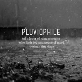 R A I N: a pluviophile playlist.