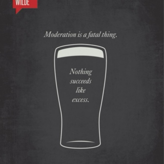 Moderation is a fatal thing