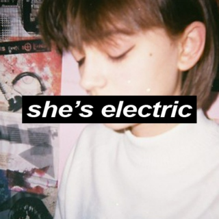 She's Electric (love songs for the obsessive teenager)