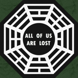 all of us are lost.