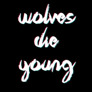 Wolves die young;