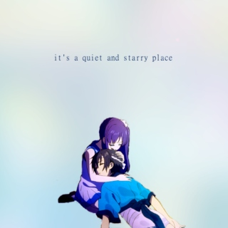 it's a quiet and starry place