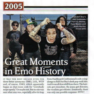 let's take this back 2005