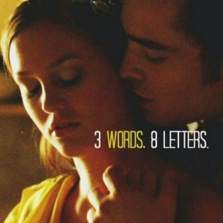 three words, eight letters