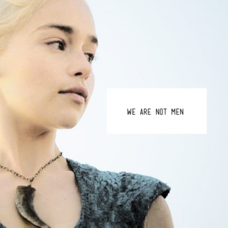WE ARE NOT MEN