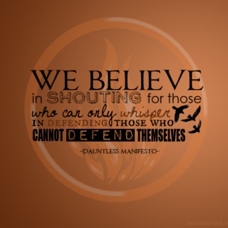 Dauntless/ Divergent