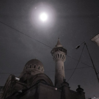 Midnight by the Mosque