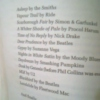 the perks of being a wallflower: song list