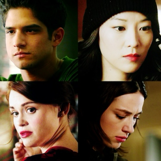 lets get lucky, lets go all the way - allison/kira/lydia/scott