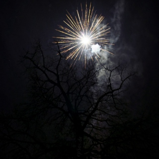 Sometimes only a firework can light up the Heavens