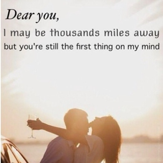 Dear You, long distance sucks...