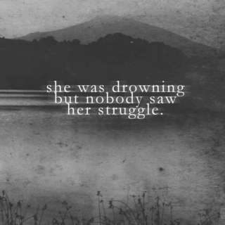 drowning and sadly still breathing