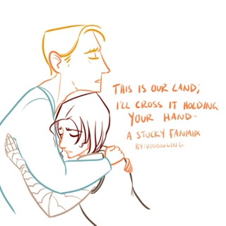 This is our land ; I will cross it holding your hand - A Stucky Mix