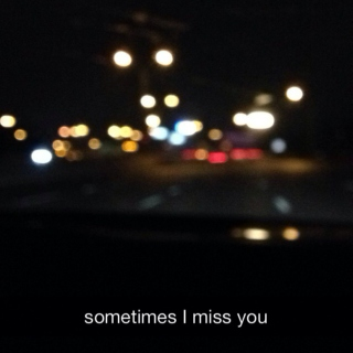 I'll get the chance to let you know that time tore us apart