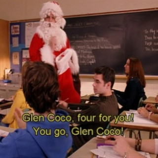 Glen Coco, four for you! You go, Glen Coco!