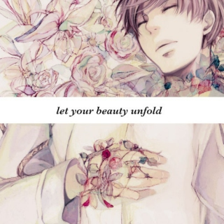 let your beauty unfold