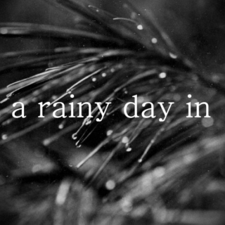 a rainy day in