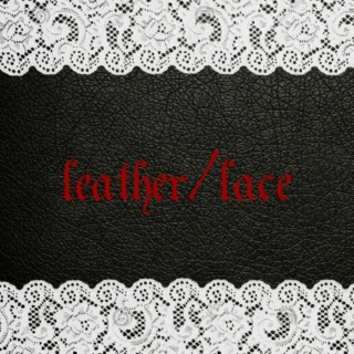 leather/lace