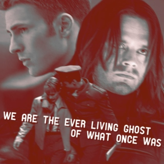 We Are The Ever-Living Ghost Of What Once Was [a Steve/Bucky fanmix]