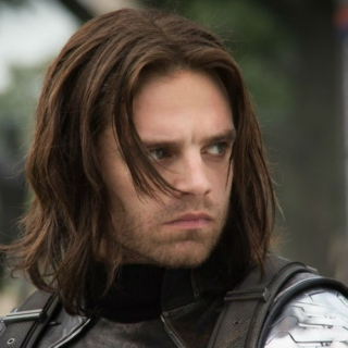 a completely 100% serious bucky barnes mix
