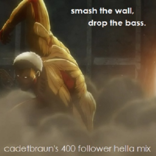 Smash the wall, drop the bass.