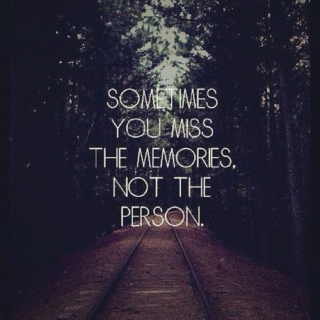 The pain will fade but the memories will remain