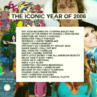 The Iconic Year 2006