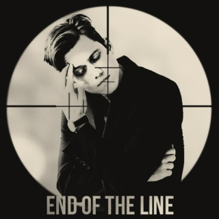 end of the line;