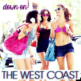 down on the west coast
