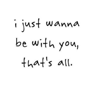 all i want.