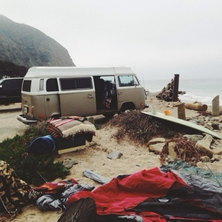 a drive up the coast and a dip in the ocean