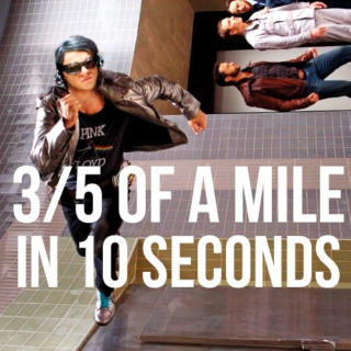 3/5 of a Mile in 10 Seconds