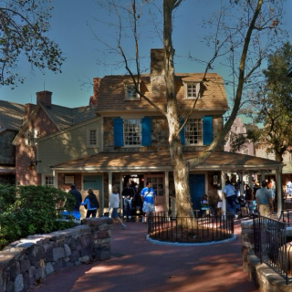 Magic Kingdom - Frontierland and Liberty Square
