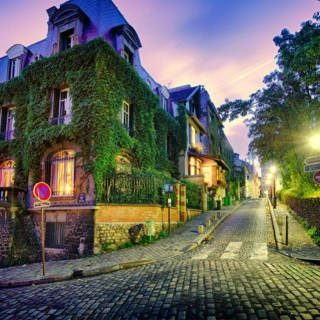 the streets of france
