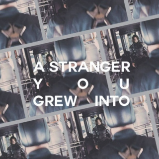 a stranger you grew into