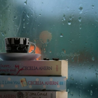 drink coffee on the rainy days