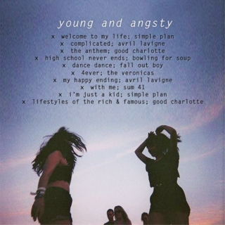 young and angsty