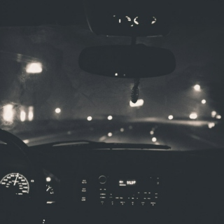 quiet nights // late drives.