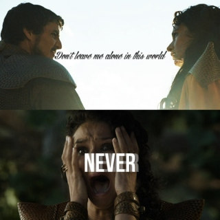 """Never"""