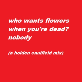 nobody (for holden caulfield)
