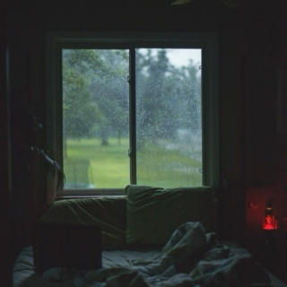 home alone on rainy days