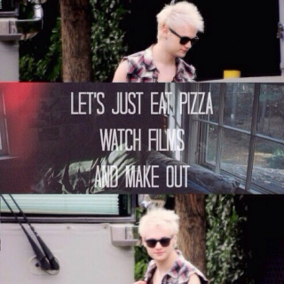 keep your friends close and your pizza closer
