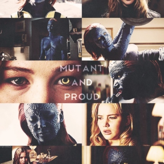 Mutant and Proud - Mystique