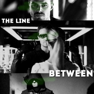 the line between: a mix for oliver queen