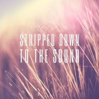 Stripped Down to the Sound