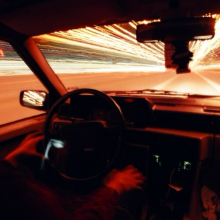 Ridiculously long driving playlist.
