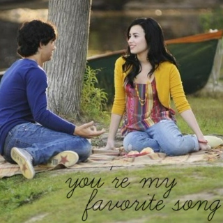 you're my favorite song♬♡