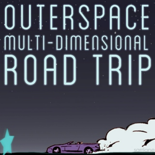 outerspace multi-dimensional road trip